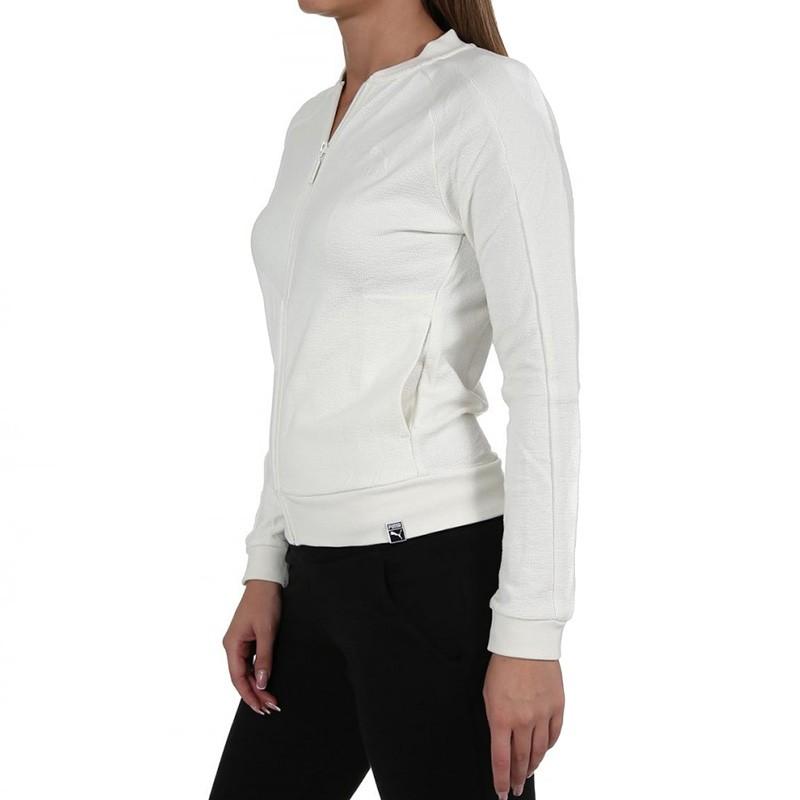 veste puma femme blanche