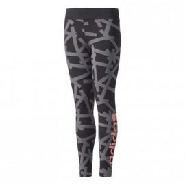 Leggings YG LINEAR Noir Fille Adidas