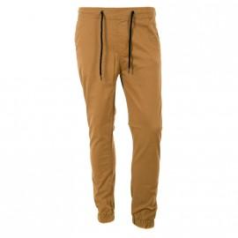 Pantalon Chino Camel Homme Crossby