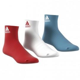 Pack de 3 paires Performance Bleu Blanc Rouge Homme Femme Adidas