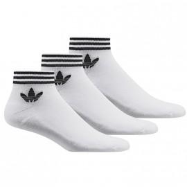 Chaussettes Trefoil Ank Str Sock Blanche Homme Femme Adidas