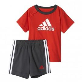 Survêtement  Rouge Bébé Adidas
