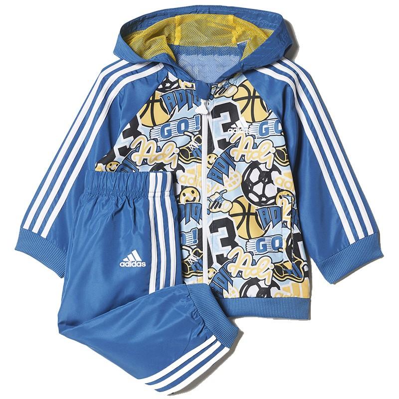 Survêtement Garçon Bleu Adidas