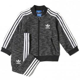 Survêtement Superstar Noir Bébé Garçon/Fille Adidas