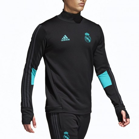 Sweat Real Madrid Football Noir Homme Adidas