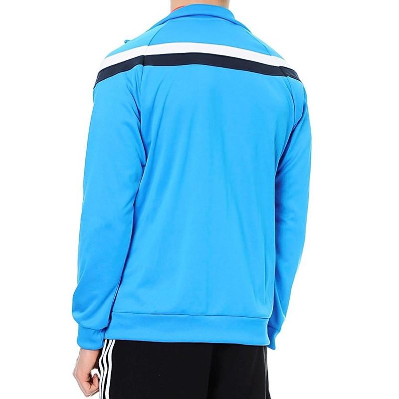 Veste Anti Uv Tennis Bleu Homme Adidas