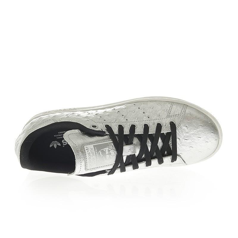 pas mal 91ffb 6e656 Chaussures Zp5fxwxq Homme Adidas Brillant Stan Smith Gris ...