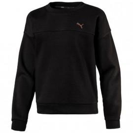 Sweat Noir Fille Puma