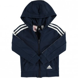 Sweat zippé Garçon Marine Adidas