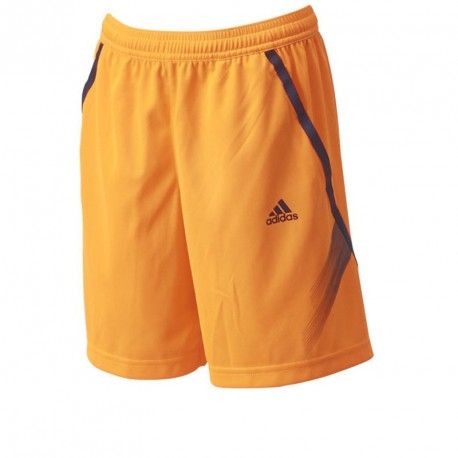 adidas tee and short fluo blue and yellow