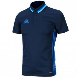 Polo Football Marine Homme Adidas