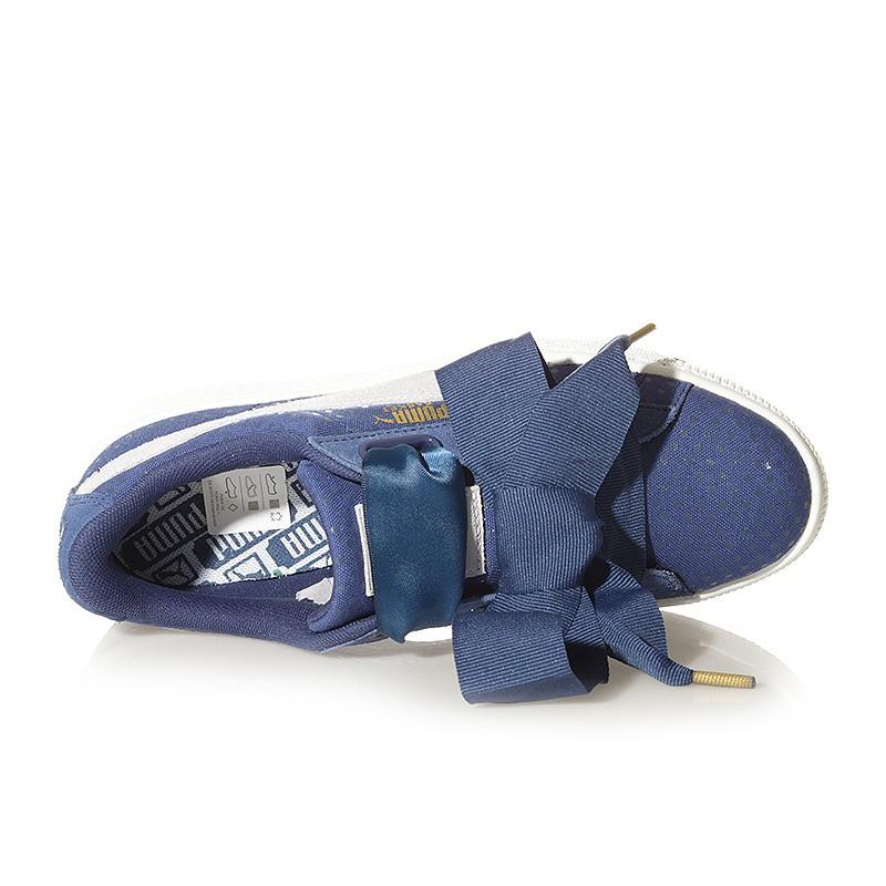 chaussure puma fille bleu