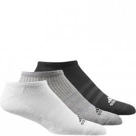 Chaussettes Inviisibles Sport Noir Homme Femme Adidas