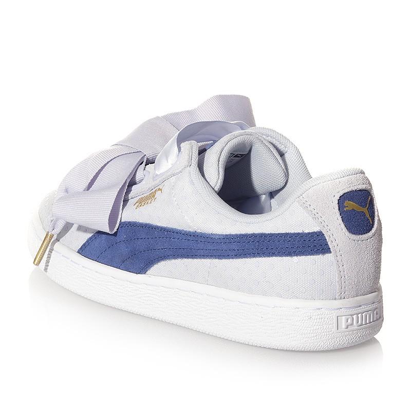 Chaussures Heart Denim Bleu Femme Fille Puma gh00h3