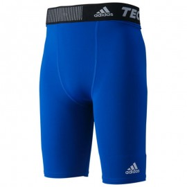 Collant de Compression Running Bleu Homme Adidas