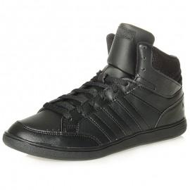Chaussures Hoops Mid Noir Femme Adidas