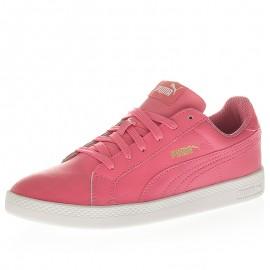 Chaussures Smash Wns Rose Femme Puma