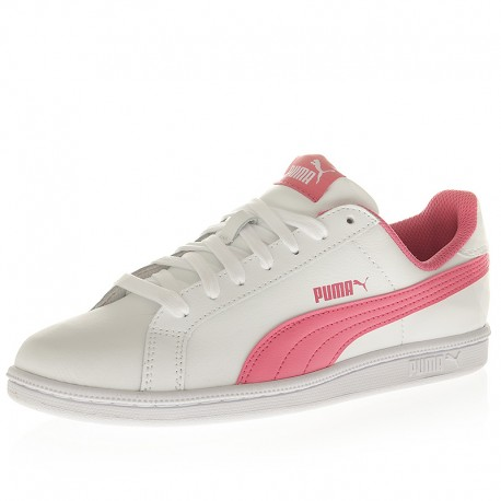 puma rose et blanche