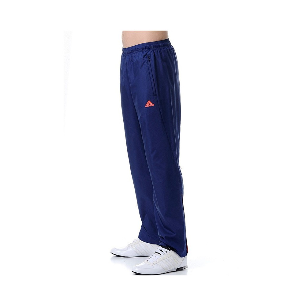 bas prix e9dd9 dacd0 Détails sur Pantalon Woven Marine Homme Adidas Bleu