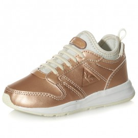 Chaussures Omega X Inf Metallic Rose Or Bébé Fille Le Coq Sportif