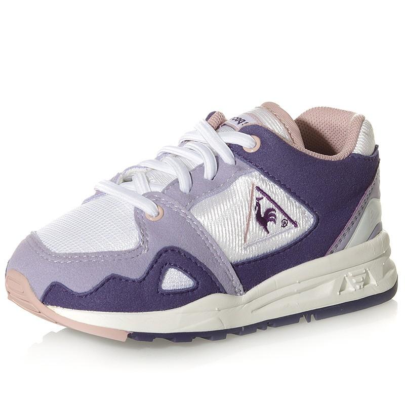 8751a5cda035 Chaussures LCS R1000 Mesh Violet Bébé Fille Le Coq Sportif