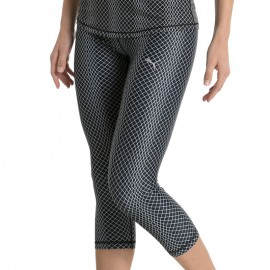 Legging 3/4 All Eyes On Me Noir Femme Puma