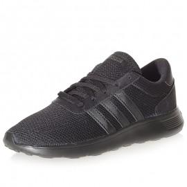 Chaussures Lite Racer Noir Garçon Fille Femme Adidas