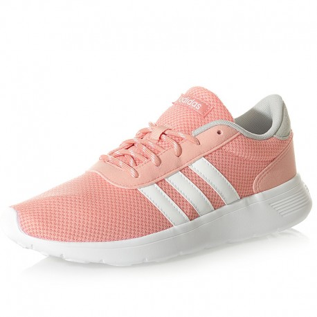 Chaussures Lite Racer Rose Femme Adidas
