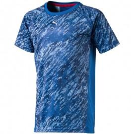 Tee shirt Sport Bleu Garçon Puma