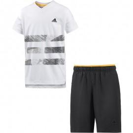 Ensemble Blanc Bébé Garçon Adidas
