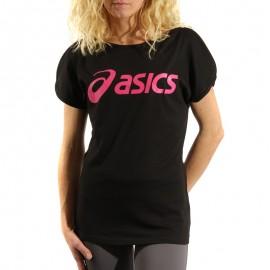 Tee-Shirt Sport Noir Femme Asics