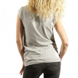 Tee shirt Gwyneth Gris Femme Pépé Jeans