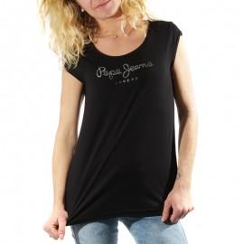 Tee shirt Kate Noir Femme Pépé Jeans