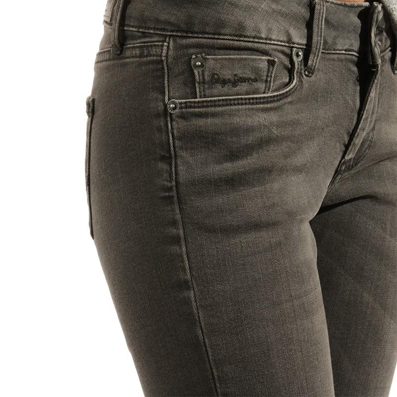 Jean Slim Jeans Noir Pépé Femme Soho 0v8mNnw