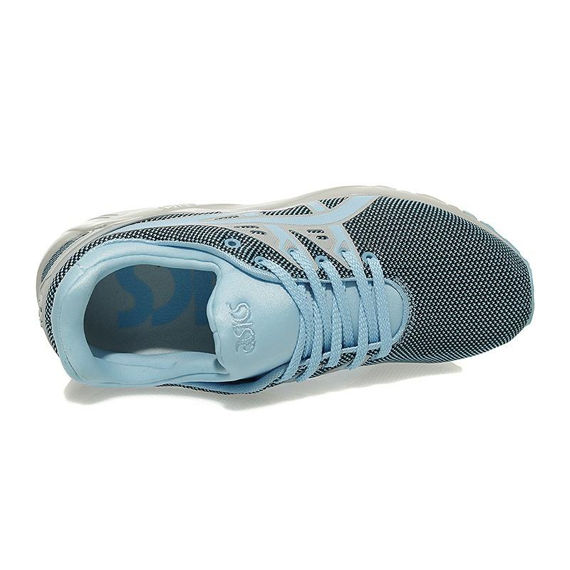 Bleu Gris Chaussures Gel Femme Kayano Garçon Fille Trainer Evo Asics Homme JTcFKl13