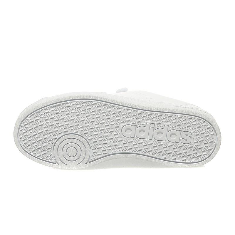 Chaussures VS Advantage Clean Cloudfoam Blanc Garçon Adidas