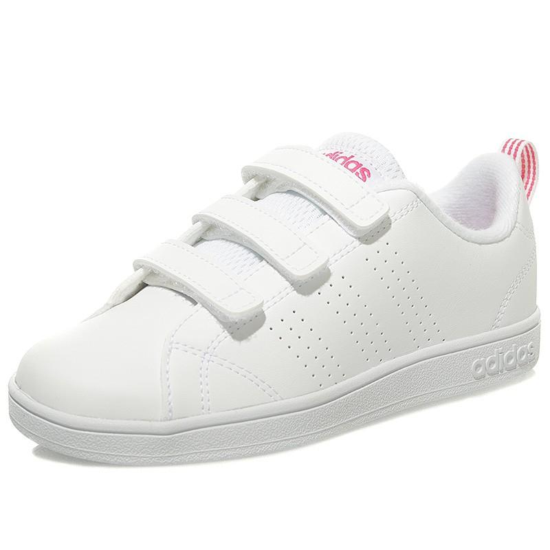 Chaussures VS Advantage Clean Cloudfoam Blanc Fille Adidas