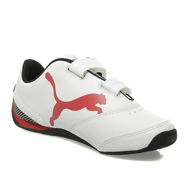 b21a3317f7d Chaussures Drift Blanc Puma Garçon V 3 Ferrari Cat Scuderia rrRw7q ...