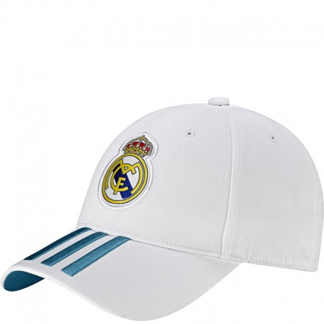 grossiste 8d179 87373 Casquette Real Madrid Blanc Football Homme Adidas