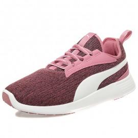 Chaussures Trainer Evo V2 Knit Rose Femme Fille Puma