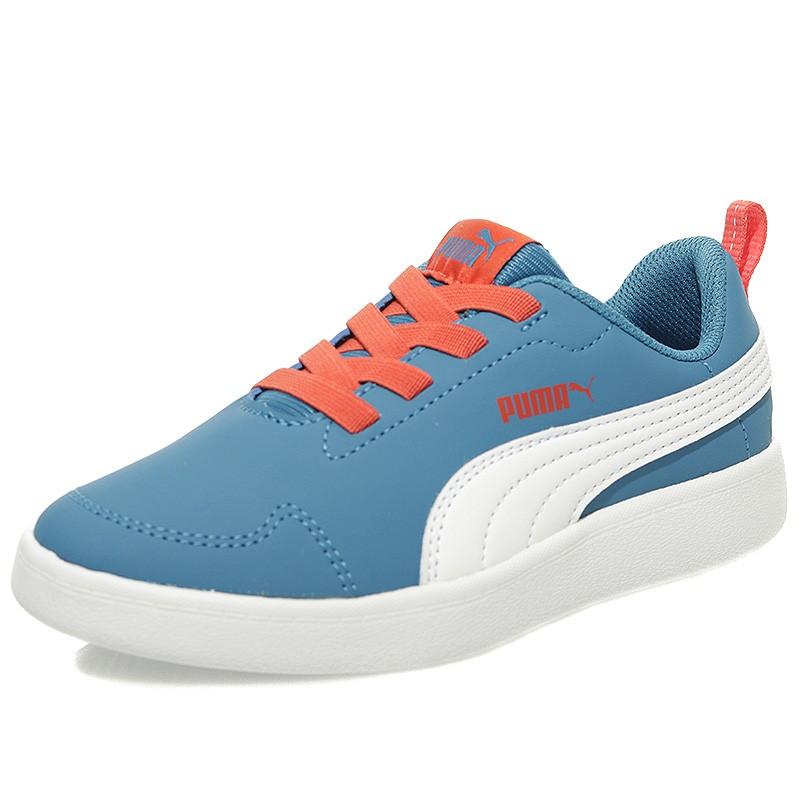 Puma Chaussures Courtflex PS Bleu Garçon fsx5JEJ - comunicacionrp.com