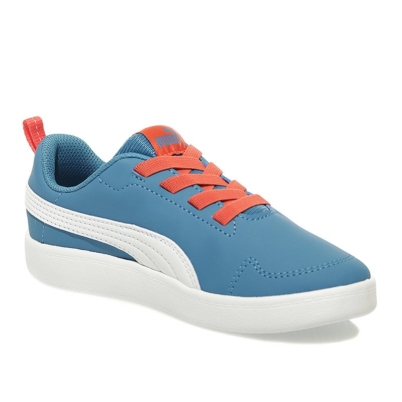 Chaussures Courtflex PS Bleu Garçon Puma O64fq