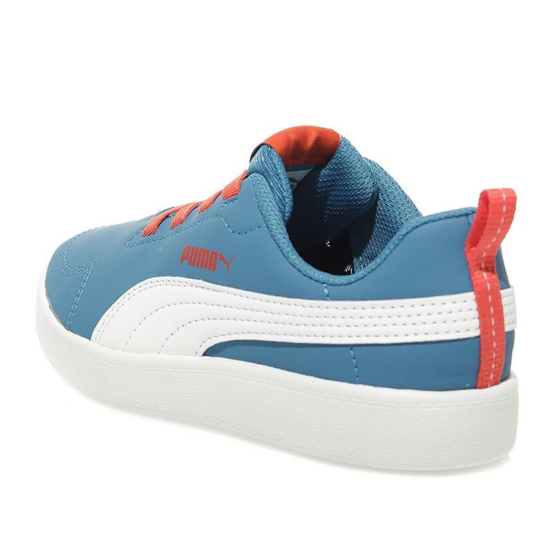 Chaussures Courtflex PS Bleu Garçon Puma SCc54RU