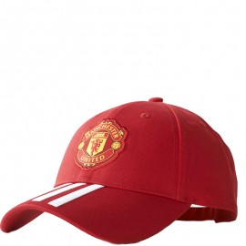 Casquette Manchester United Rouge Football Homme Adidas
