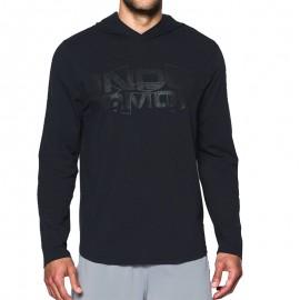 Tee-shirt à Capuche Noir Homme Under Armour