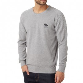 Pull Gris Homme Frank Ferry