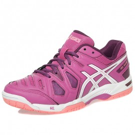 Chaussures Gel Game 5 Rose Running Femme Asics