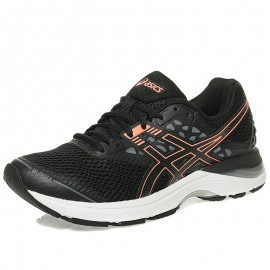 Chaussures Gel Pulse 9 Noir Running Femme Aiscs