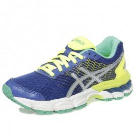 Chaussures Gel Nimbus 18 Bleu Running Fille Femme Asics