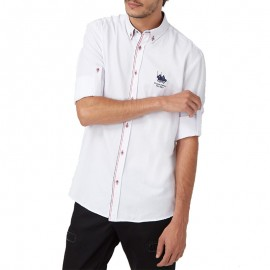 Chemise Manches longues Blanc Homme Frank Ferry